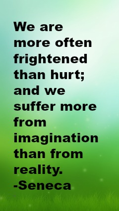 1213 Relax and Succeed - We are often more frightened than hurt