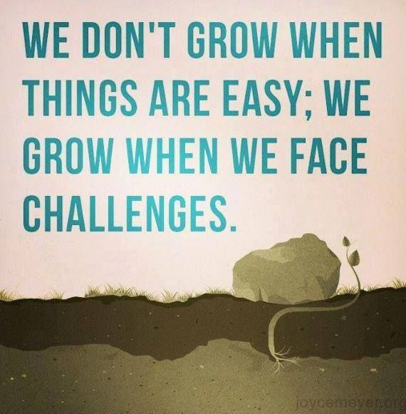 1216 Relax and Succeed - We don't grow when things aren't easy