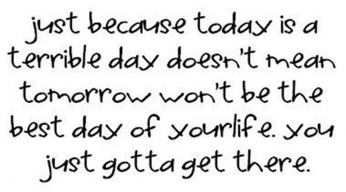 1248 Relax and Succeed - Just because today is a terrible day