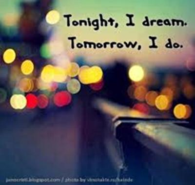1250 Relax and Succeed - Tonight I dream tomorrow I do