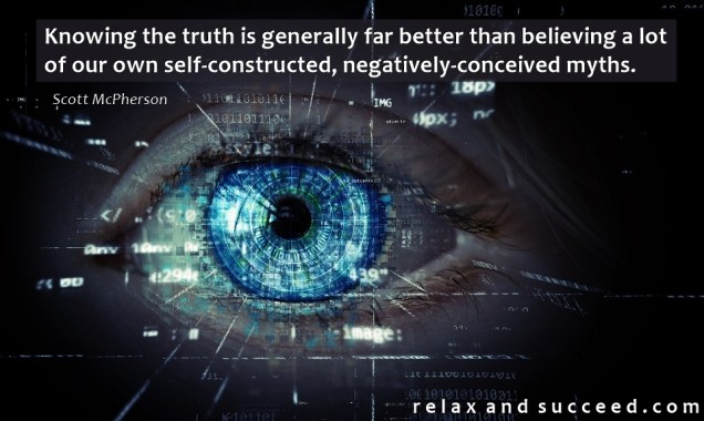 1381 Relax and Succeed - Knowing the truth is generally far better