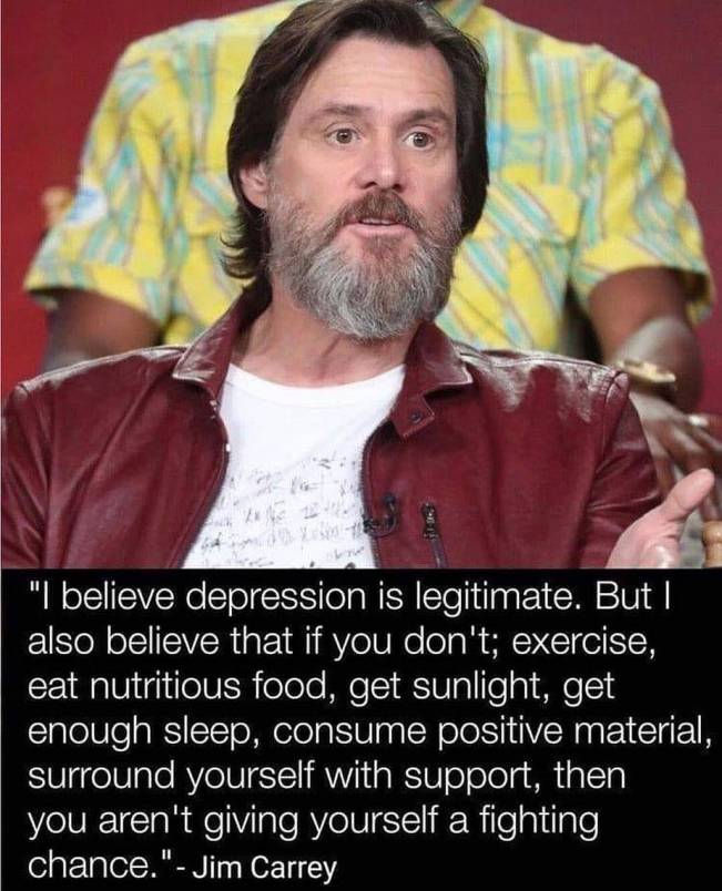 1486 Relax and Succeed - Jim Carrey on Depression