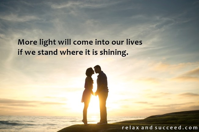 1458 Relax and Succeed - More light will come into our lives 2