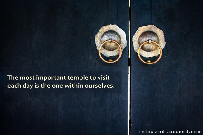 1496 Relax and Succeed - The most important temple