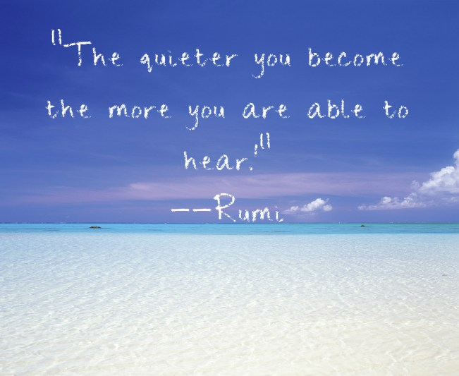 1498 Relax and Succeed - The quieter you become
