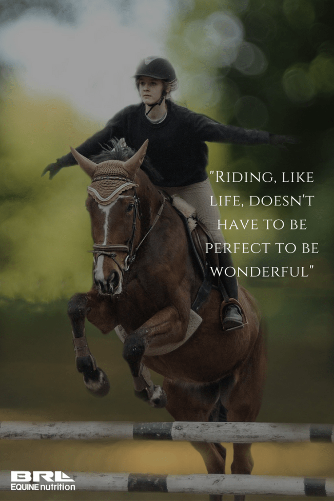 1504 Relax and Succeed - Riding like life doesn't have to be perfect