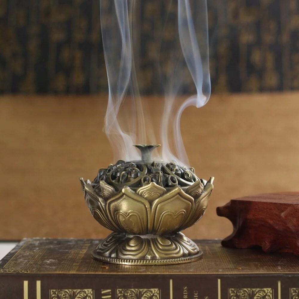 Encensoir fleur de lotus