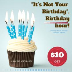 birthday treatment