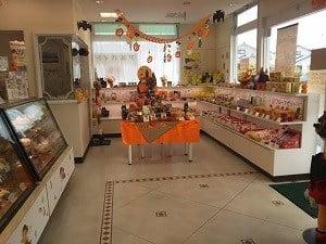 不二家坂之上店の店内の雰囲気の写真