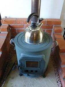 暖炉の写真