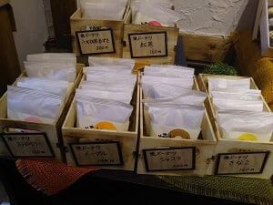 焼きドーナツバラ売りの写真