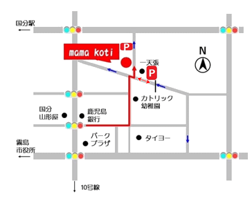 イベント時の駐車場案内のイラスト