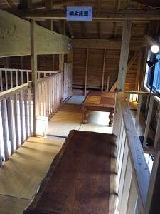 2階のお座敷の写真