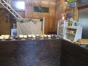 fufu chiffonの店内の雰囲気の写真