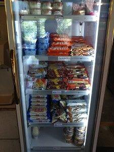 みよし家牧之原店のアイスクリームが販売されている写真