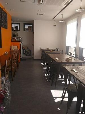 ピッツェリアケンチの店内の雰囲気の写真