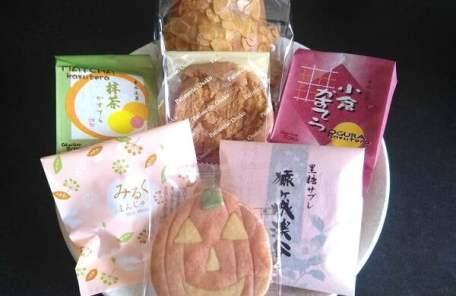 お菓子の大迫の買ったお菓子の写真