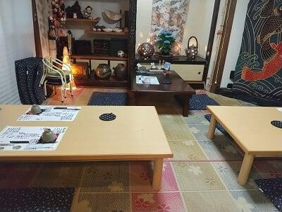 四季膳桜花(さくら)の奥のお座敷席の写真