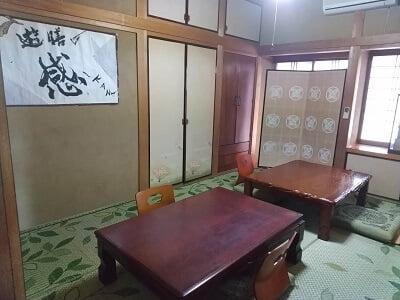 広瀬の遊膳感の右の部屋の雰囲気の写真
