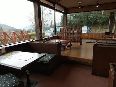 霧島峠茶屋の手前の雰囲気の写真