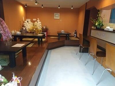 天ぷら小林の店内の雰囲気の写真