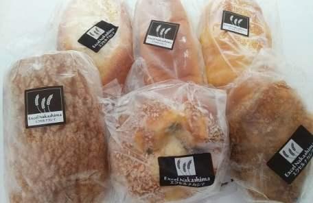 エクセルナカシマの買ったパンの写真