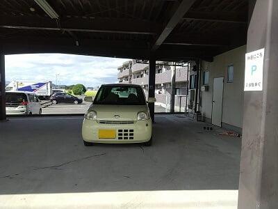 和創こころの横の駐車場の写真