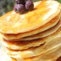 Un dolce risveglio: pancakes allo sciroppo d'acero