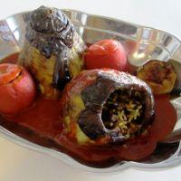 Mi racconti una ricetta? Dolmeh eggplants and tomatoes persian style