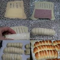 Flauti salati formaggio e prosciutto