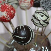 Cake pops per San Valentino