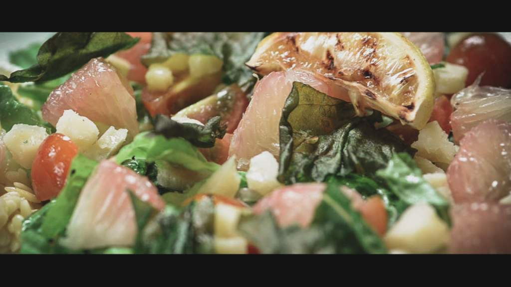 Pomelo Orzo Salad