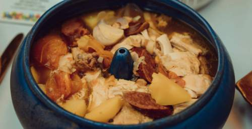Kinulob Na Manok (Whole Stewed Chicken)