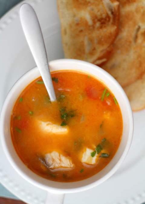 Special Kinamatisang Bisugo Soup