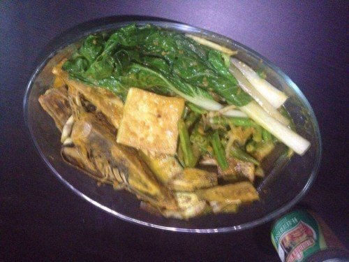 Vegetarian Kare Kare Recipe with Tofu