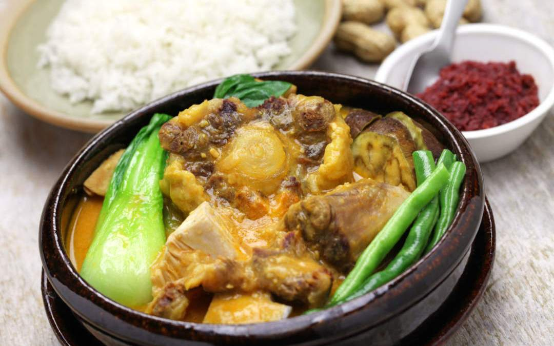 Slow cooked Kare Kare Recipe Mama Sita (Oxtail Peanut Stew)