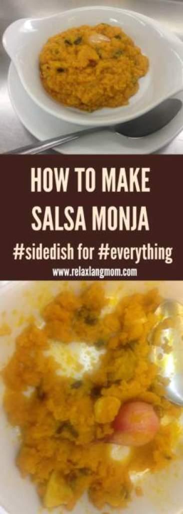 Salsa Monja Recipe