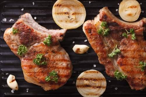 Grilled Sinigang Pork Chops with Sinigang Mix Rub
