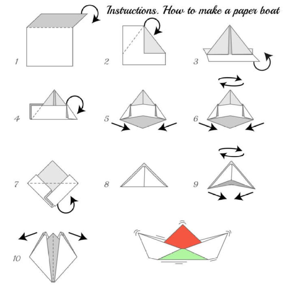 You Get To Relearn It The Moment Hold Paper With Intention Make A Boat After Couple Of Tries