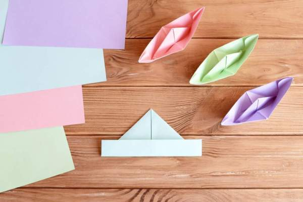 Homeschool Art Project How To Make A Paper Boat Relax Lang Mom