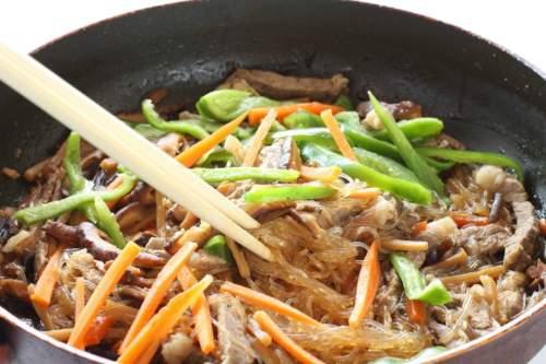 Bonchon Chap Chae Recipe Copycat