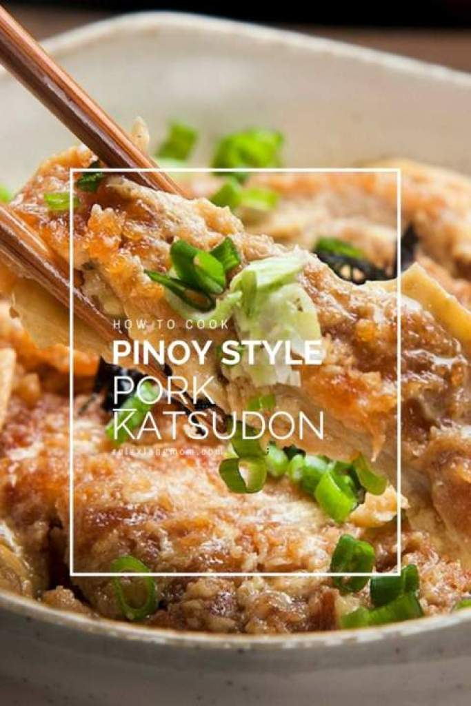 Pinoy style Pork Katsudon -Easy and yummy pork katsudon -Relax lang Mom FIlipino Food Blog and Recipes