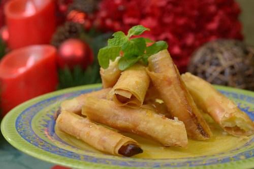 Special Banana Turon – Turones De Manila by Chef Myrna