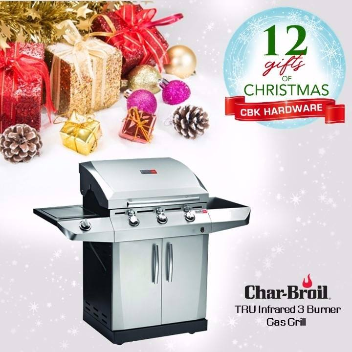 Preparing a perfect steak or succulent chicken is a little easier with Char-Broil's gas grill. Available in leading hardware stores nationwide or order online at www.cbkhardware.com