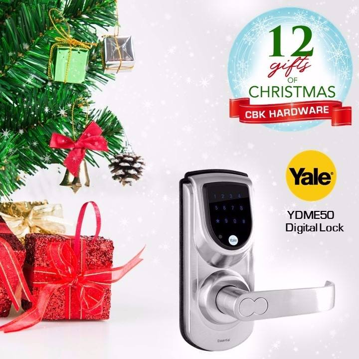 Give your family and friends the gift of security with a reliable digital door lock from Yale. Yale Digital locks are available in leading hardware stores nationwide or order online at www.cbkhardware.com   #cbkhardware #hardwareph #homeimprovement