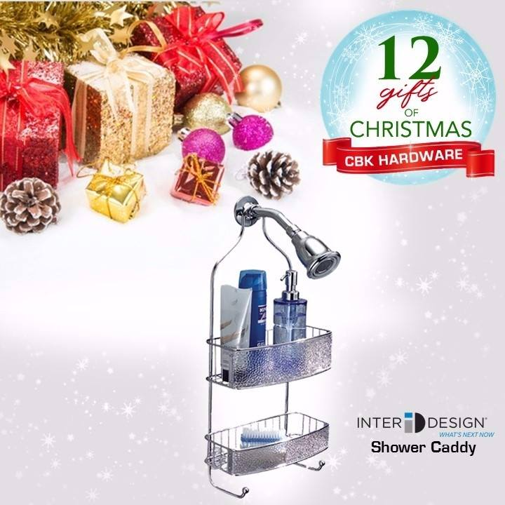Give the gift of spa-like relaxation with InterDesign Shower Caddy.  Interdesign products are available in leading hardware stores nationwide or order online at www.cbkhardware.com   #cbkhardware #hardwareph #homeimprovement