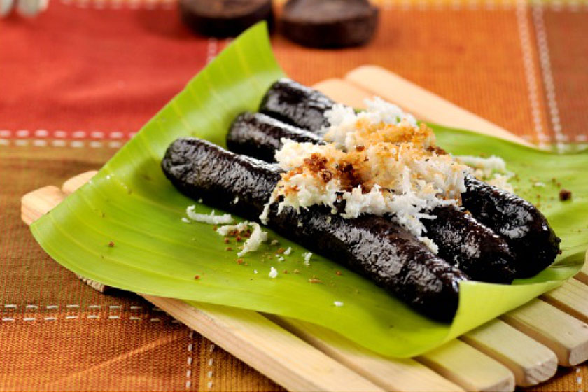 Tsokolate Puto Bumbong -Pinoy Christ,mas Recipes