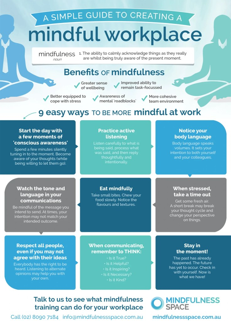 how to create a mindful workplace