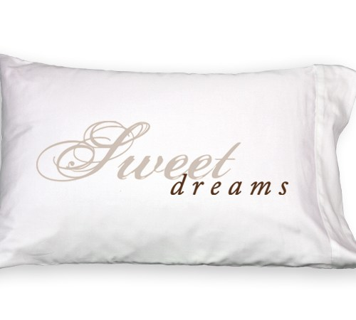 Sweet Dreams Faceplant Pillowcase