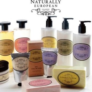 Naturally European bath and body at Relax Spa and Beauty.